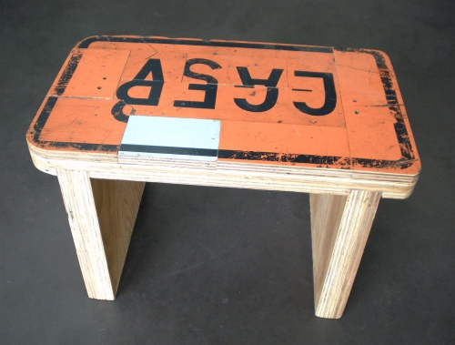 Roadside Bench by Benjamin Alexander Clark